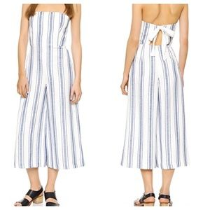 [Club Monaco] Striped Simonettah Jumpsuit